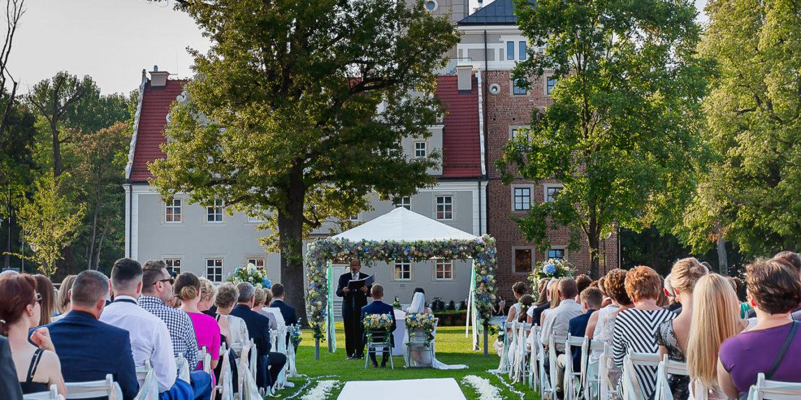 Ślub w plenerze Zamek Topacz