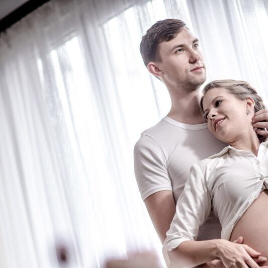 sesja ciążowa w domu